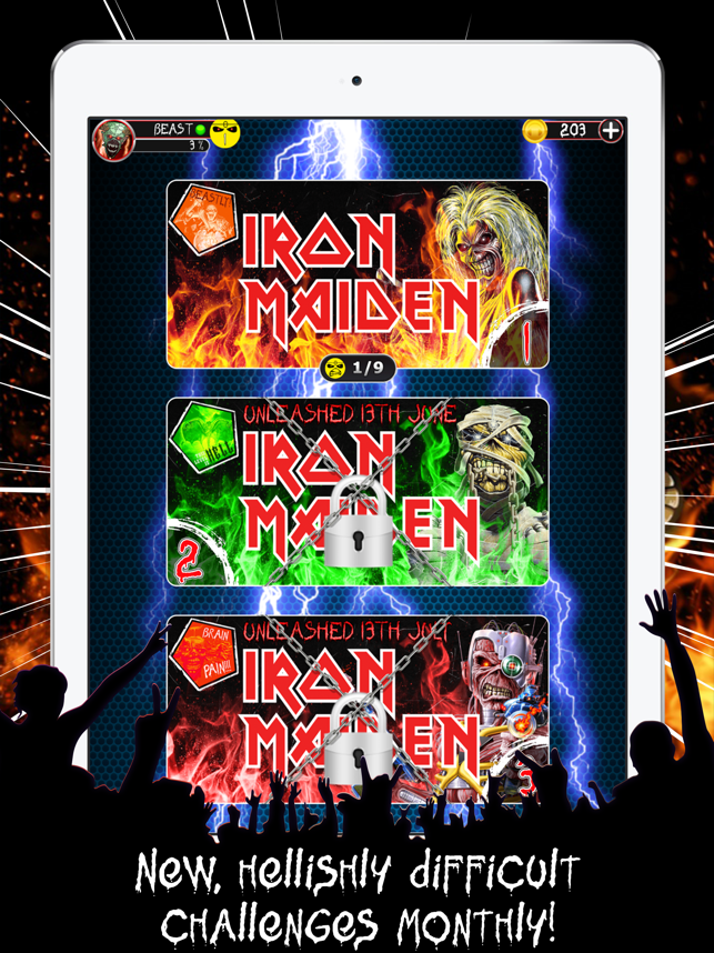 Iron Maiden's Beat the Intro Screenshot
