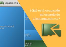 ¿Cómo liberar espacio de almacenamiento en Android? DiskUsage