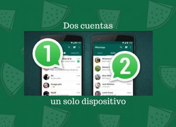Cómo tener DOS cuentas de WhatsApp en el mismo móvil