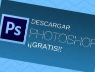 Descargar Photoshop Gratis y Legal Full en Español